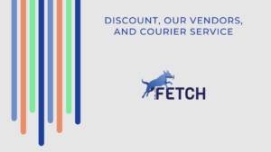 Discount, Our Vendors, and Courier Service Introduction
